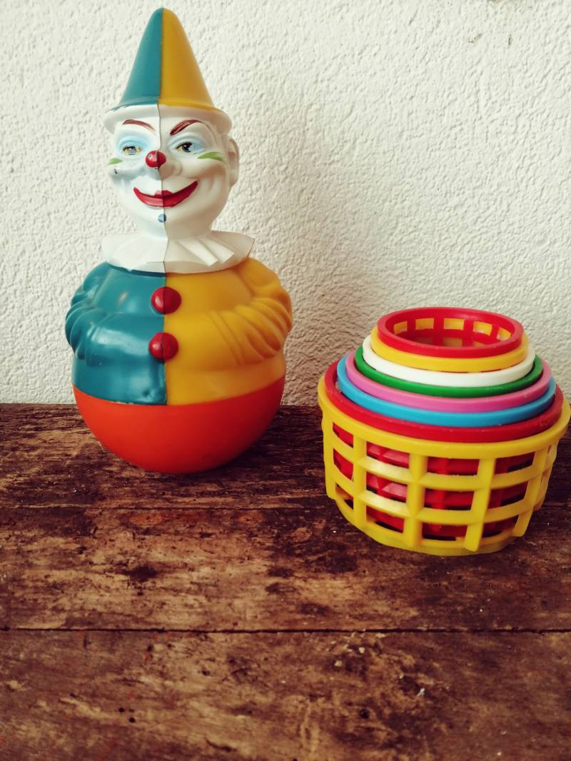 Dolly-toys clown tumbler!