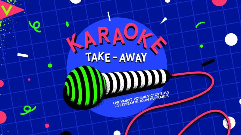 Karaoke vegan-kapsalon take away!