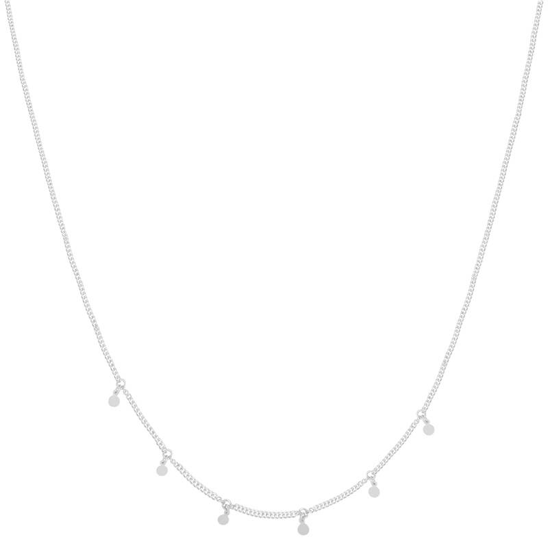 Ketting Sweet Coin Zilver