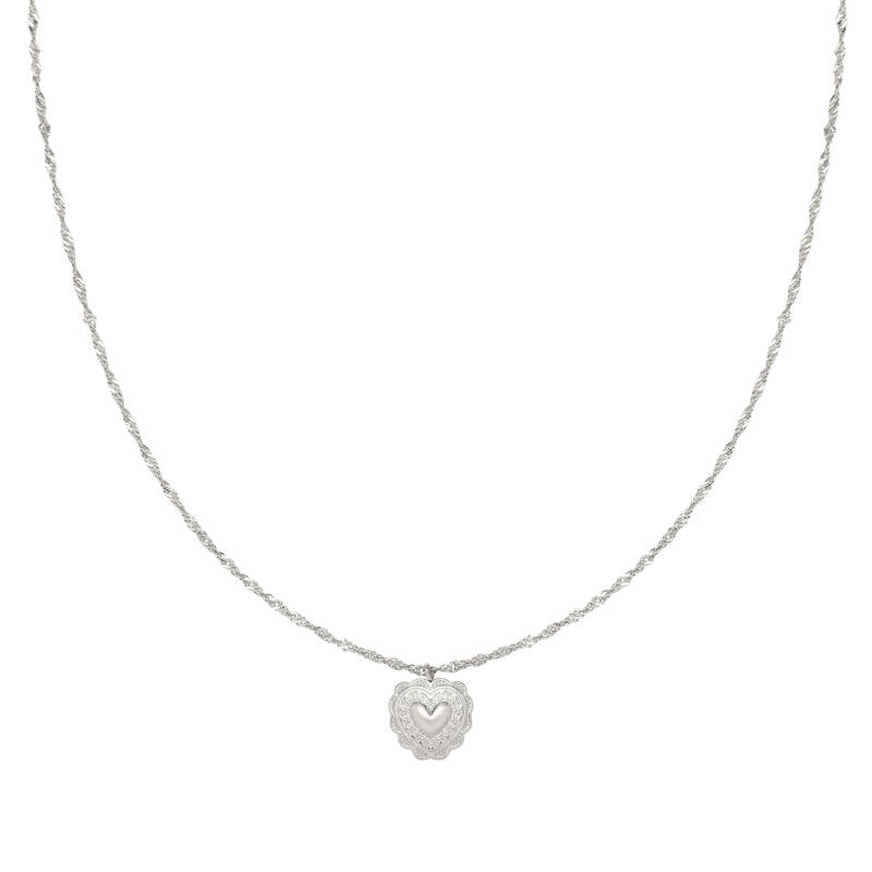 Ketting One Love Zilver