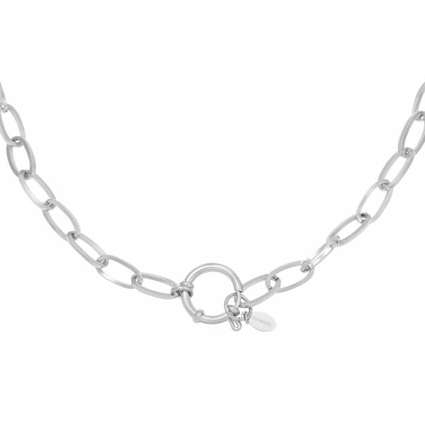 Ketting Chain Rose Zilver
