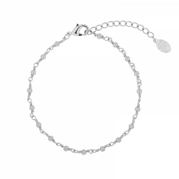 Armband Connected Dots Zilver