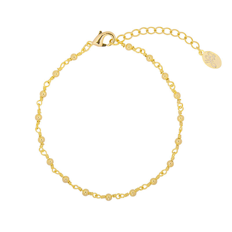 Armband Connected Dots Goud
