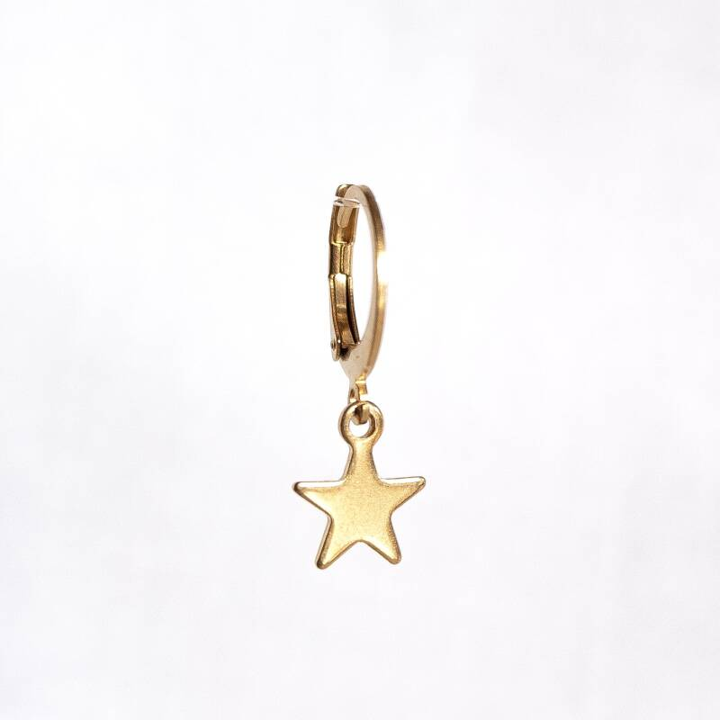 Oorbel Just Star Goud (1 piece)