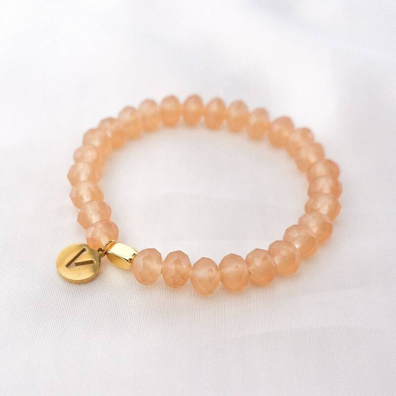 Armband Frosted Peach