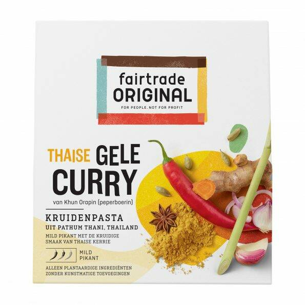 Gele curry kruidenpasta 70 gr