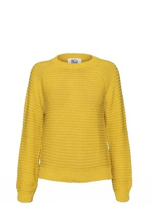 Trui &co women yellow