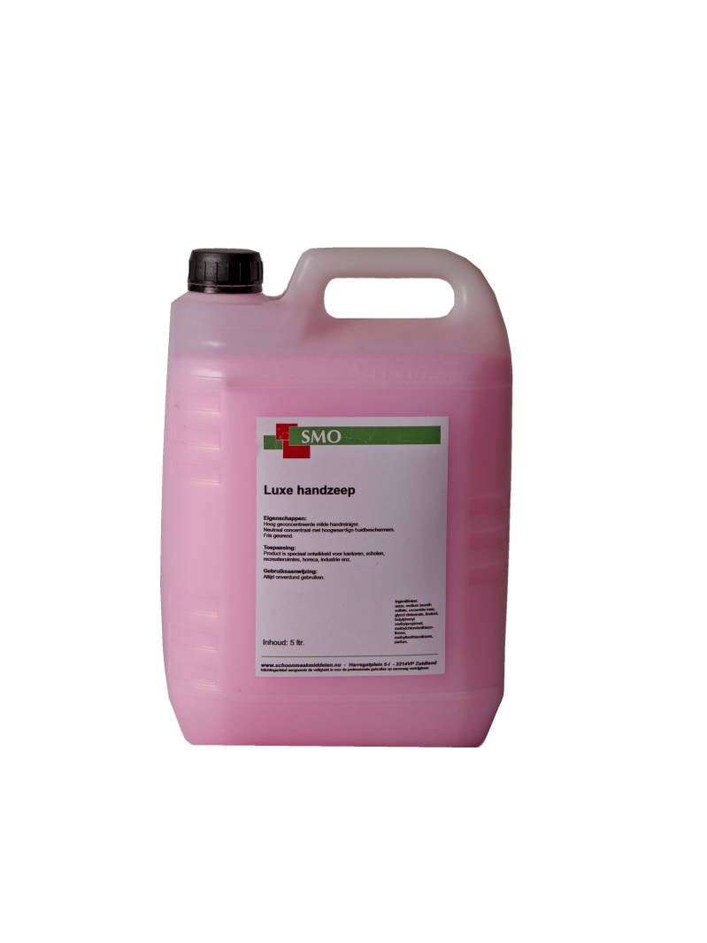 Luxe Dispencerzeep Roze 5 liter