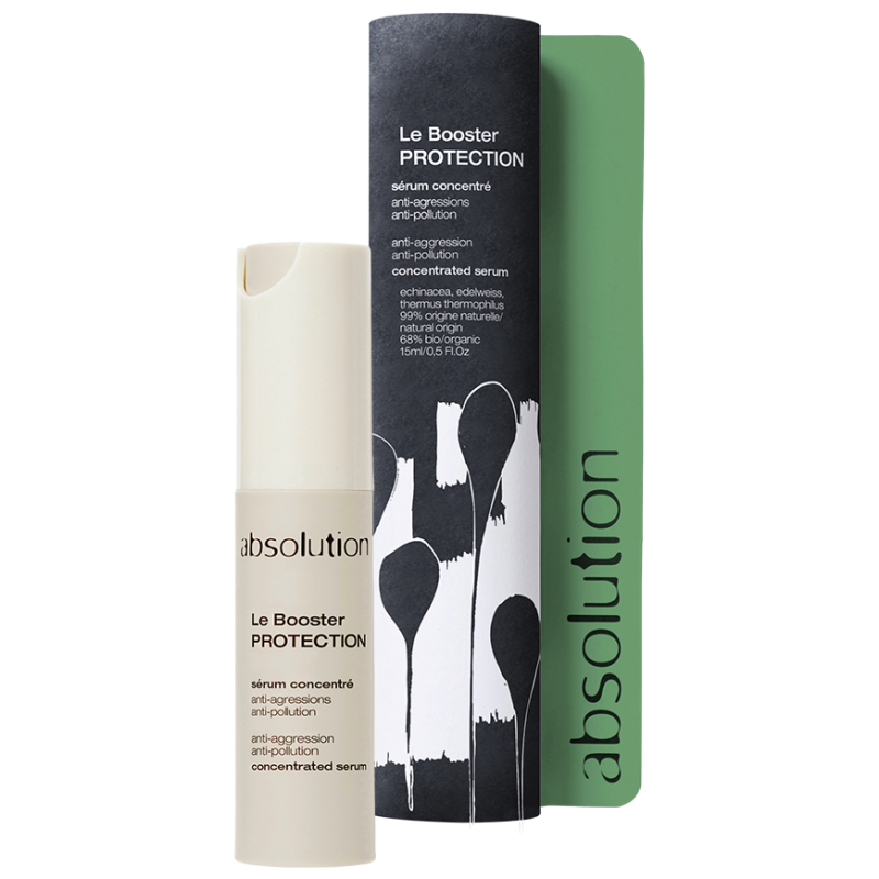 Le Booster Protection (15ml). Serum tegen UV straling, vervuiling, vermoeidheid, couperose..
