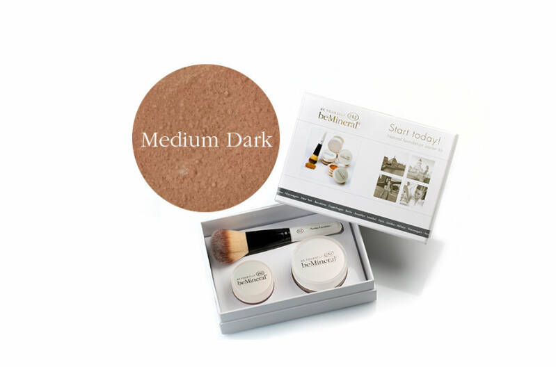 KIT Foundation MEDIUM DARK. Minerale poederfoundation; voelt als een crème!