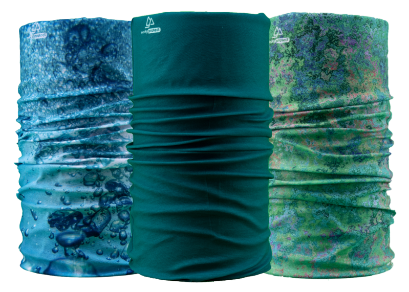3-pack Storm Green