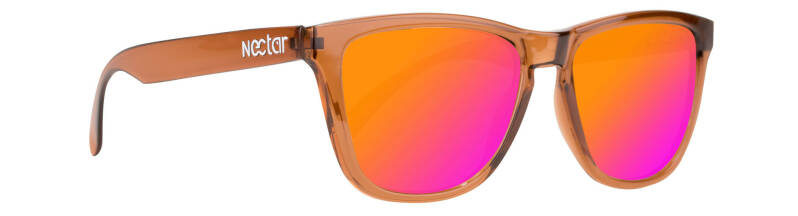 Crux - Brown Frame - Orange Lens