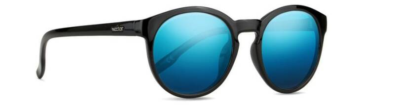 Traveller Black Frame - Blue Lens