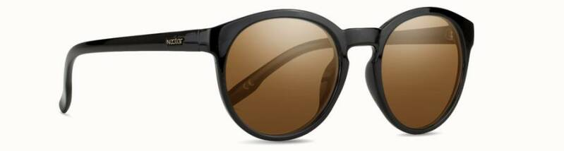 Traveller Black Frame - Gold Lens
