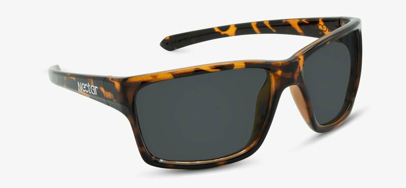 Chesapeake brown tortoise frame - black lens