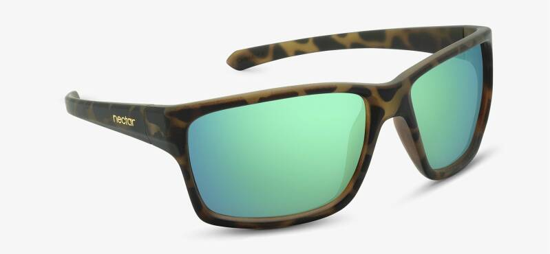 Chesapeake brown tortoise frame - green lens