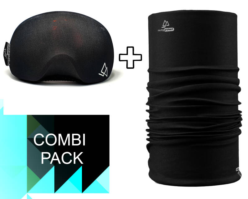 Duo-pack Necky + Goggle Protect black