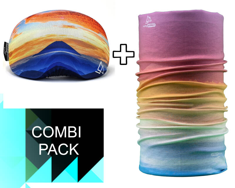 Duo-pack Necky + Goggle Protect mountain