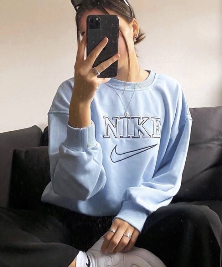 Limited edition sweater blue