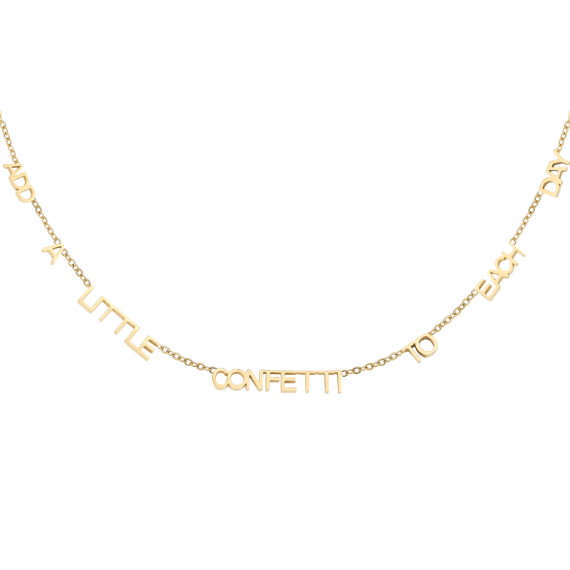 Ketting Add A Little Confetti To Each Day