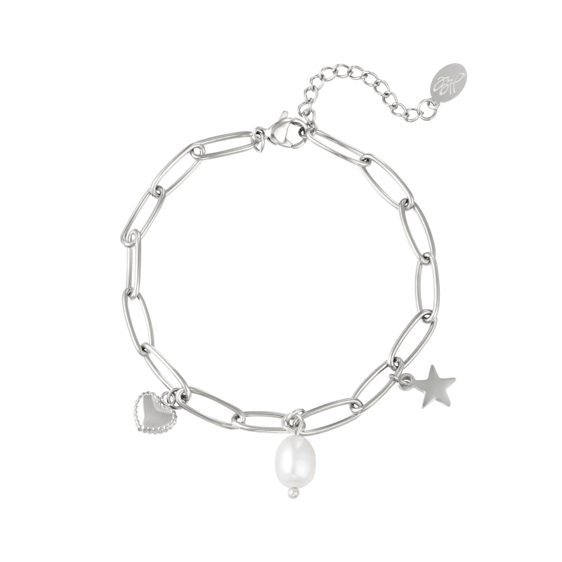 Armband Pearls in love