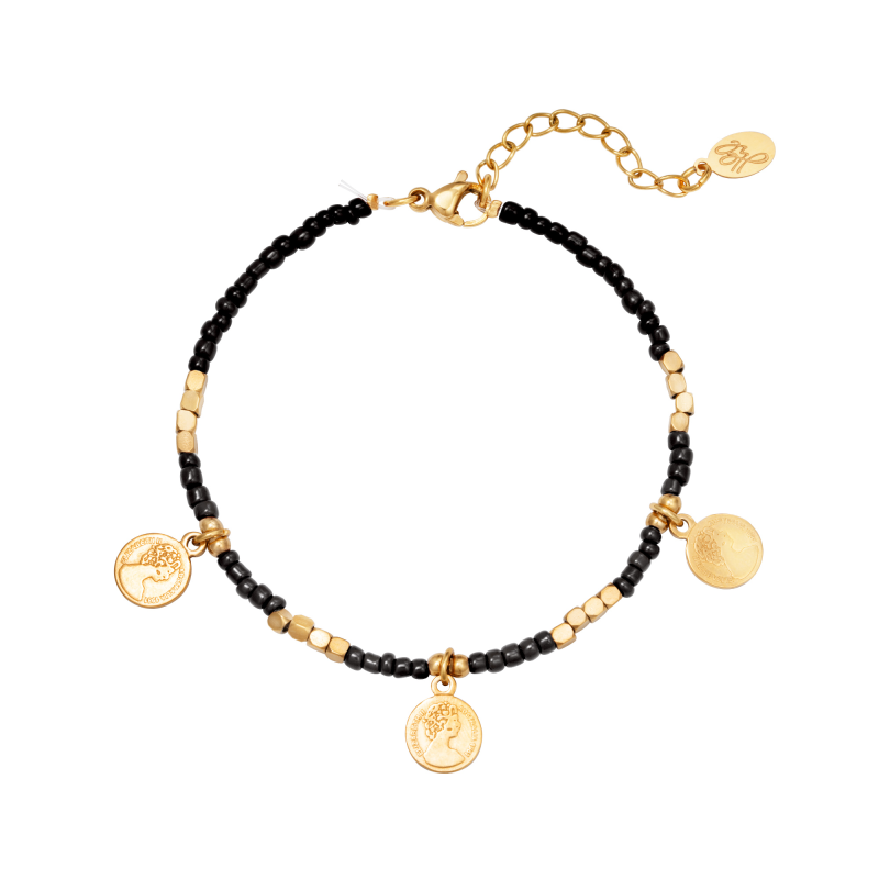 Armband Beads And Coins