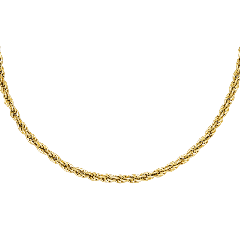 Ketting Twisted Chain gold