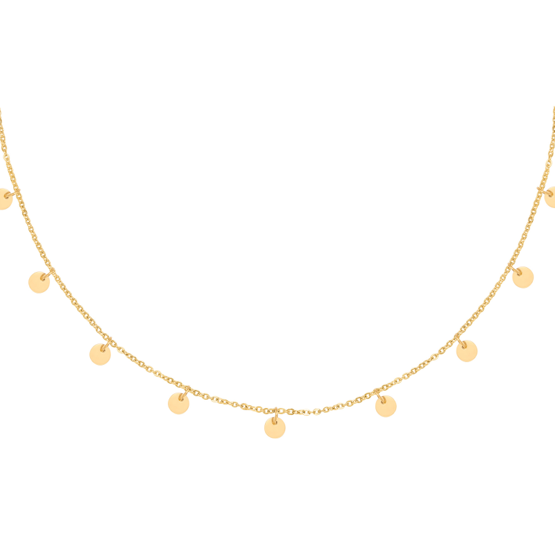 Ketting Floating Coins