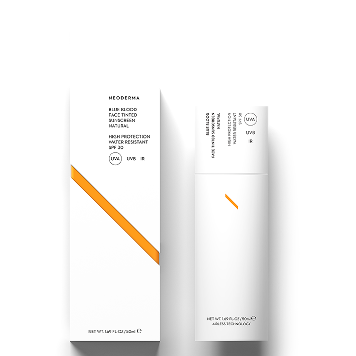 Neoderma Blue Blood Face Tinted Sunscreen | Natural - SPF30