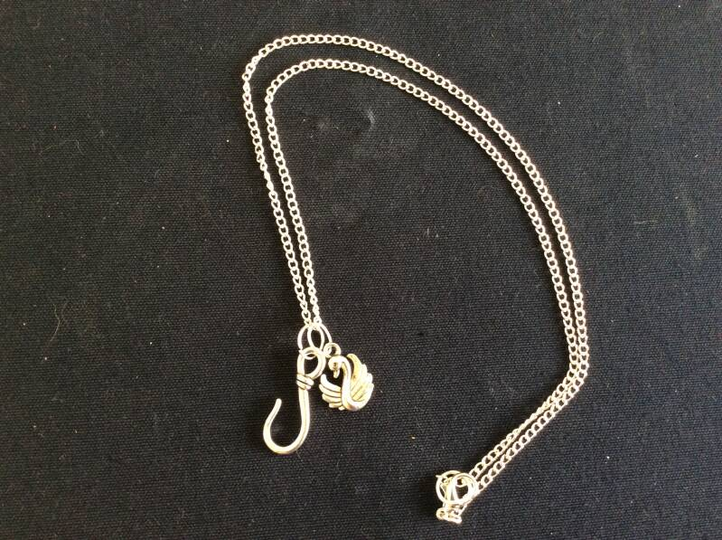 Once upon a Time ketting CaptainSwan necklace