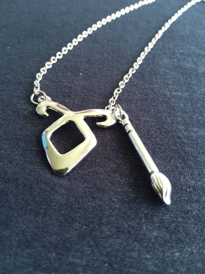 """Shadowhunters ketting/necklace """"Angelic Power Clary"""""""