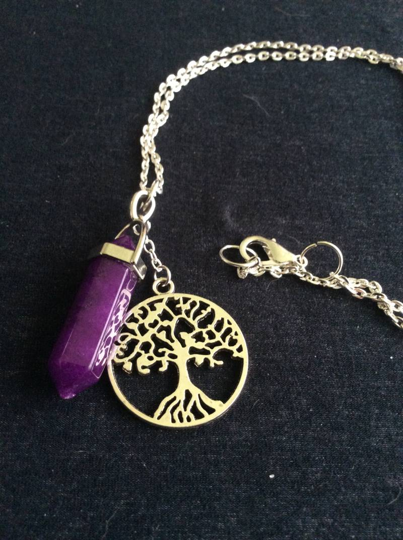 "The Dark Crystal ""Sanctuary Tree"" ketting/necklace"