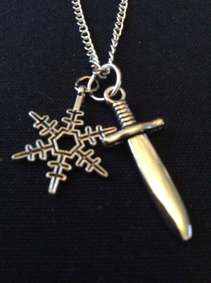 "Once Upon A Time ketting ""Snowing""  necklace"
