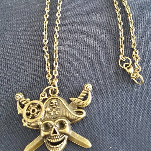 Pirates of the Caribbean 'Black Pearl' ketting necklace
