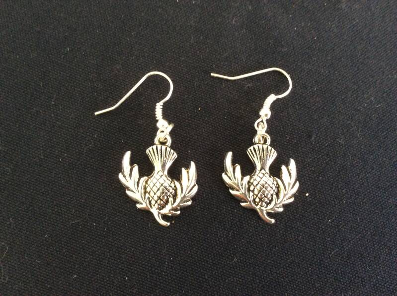 Outlander Thistle oorhangers earrings