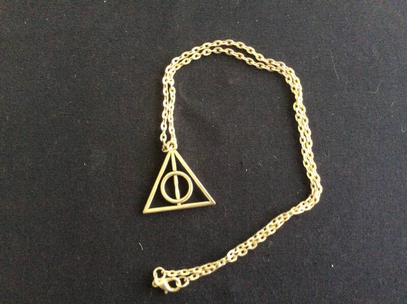 Harry Potter ketting, Deathly Hallows  necklace