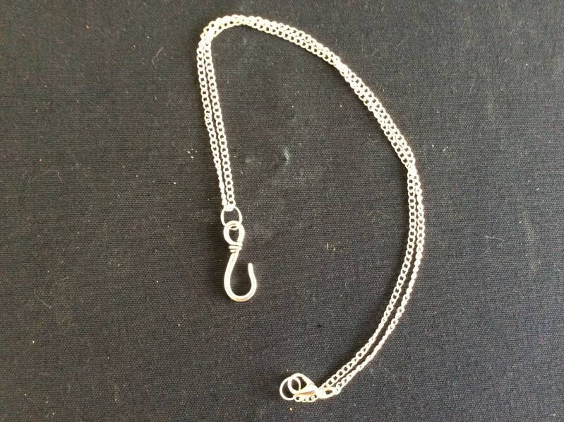 Once upon a Time ketting Captain Hook necklace
