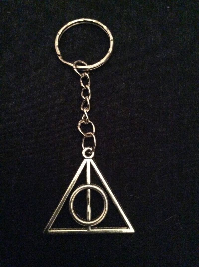 "Harry Potter sleutelhanger ""Deathly Hallows"""