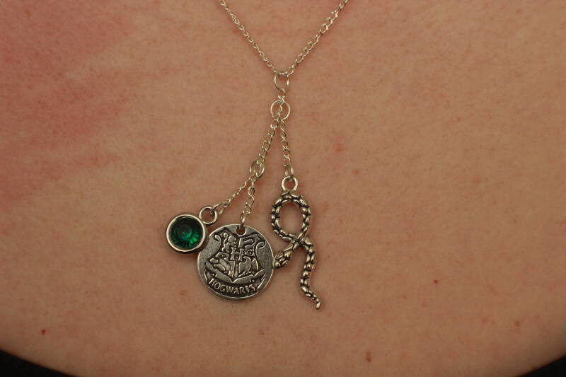 Harry Potter, Hogwarts Slytherin ketting necklace
