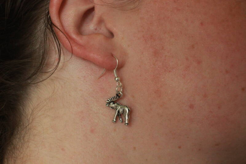 Supernatural oorhangers Sam 'Moose' earrings