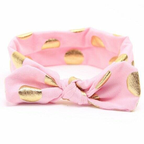 haarband gold pink