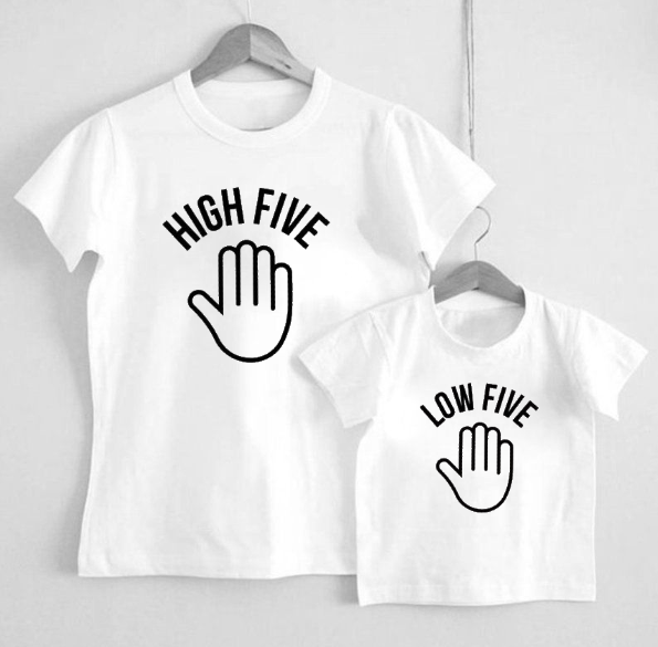 high/low five