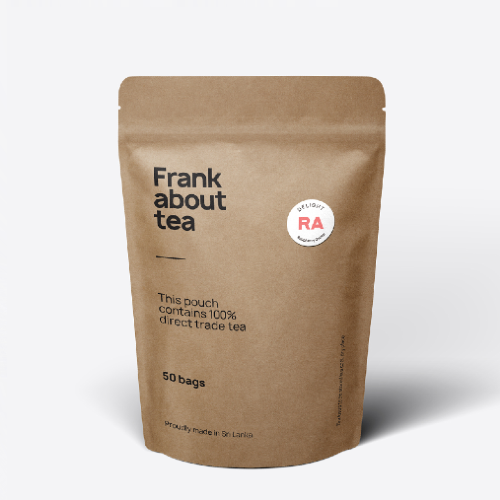 Frank about tea Raspberry Green