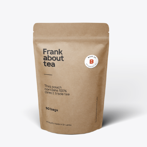 Frank about tea English Breakfast