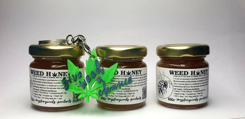 benefit package weedhoney65gr+hanger