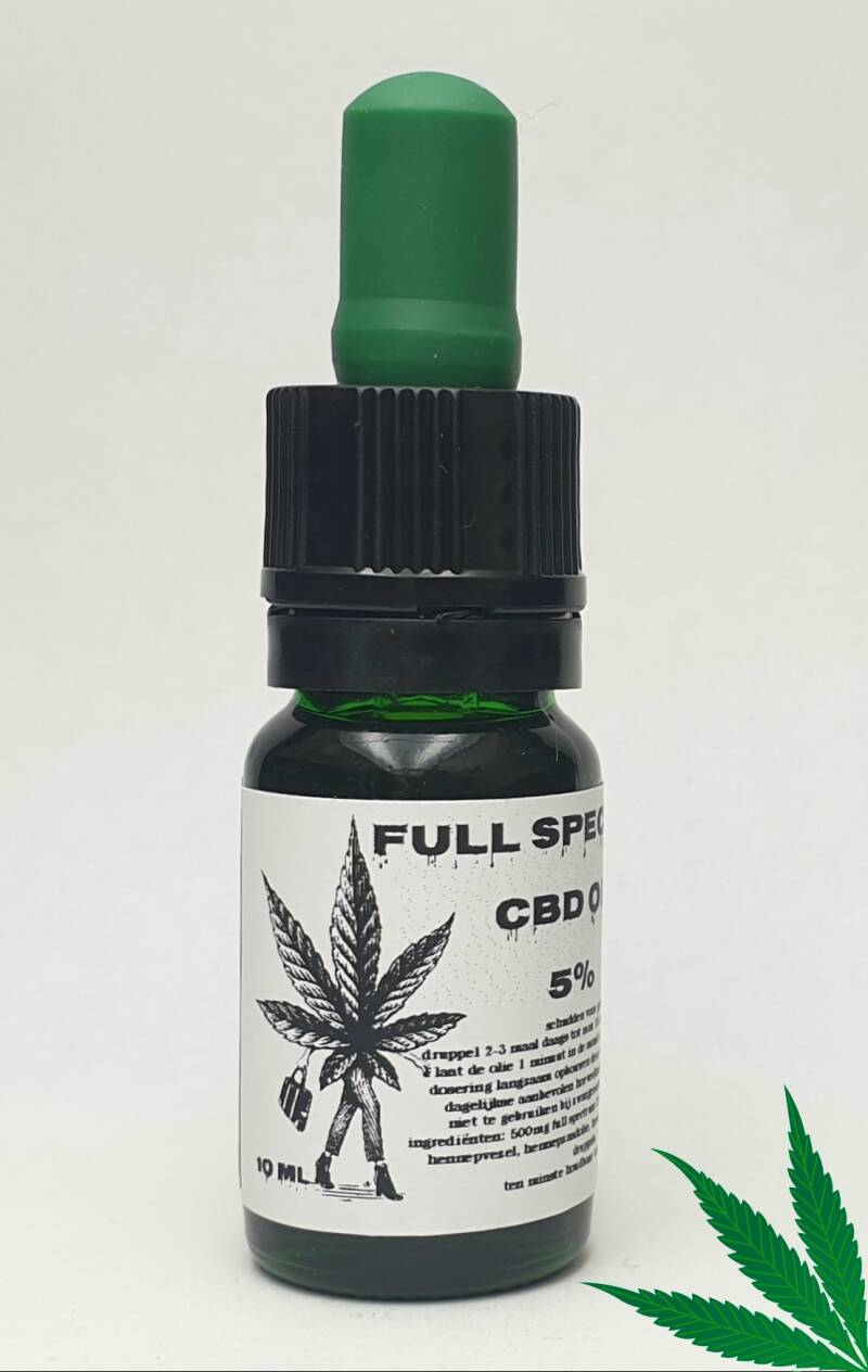 Full Spectrum CBDA+CBD olie 5%