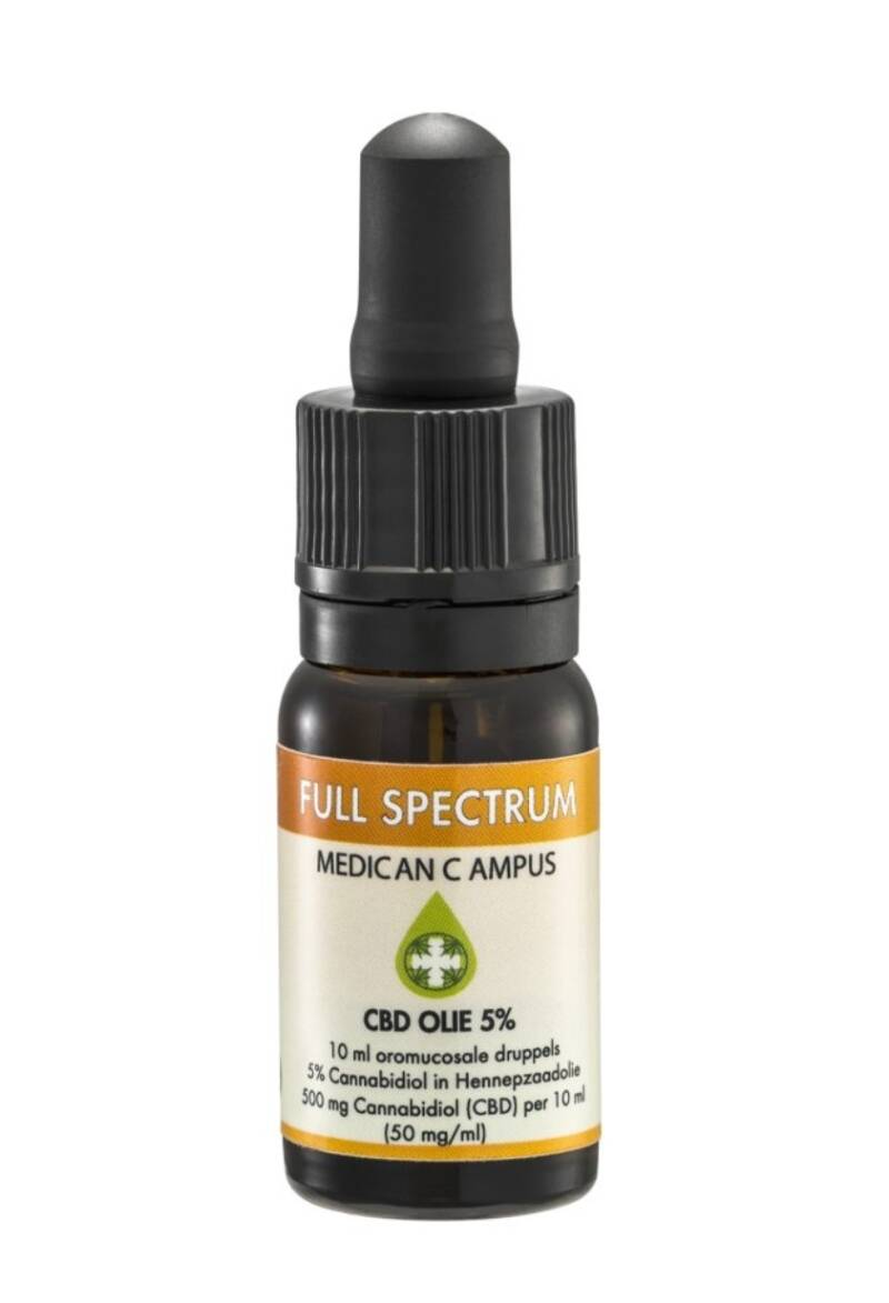 Full Spectrum CBD olie 5% Medican Campus