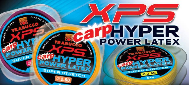 ELASTIEK  TRABUCCO XPS CARP HYPER POWER FLUOR LATEX 2.20mm 5m