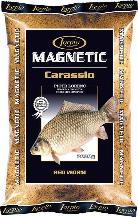 LORPIO MAGNETIC CARASSIO RED WORM 2000g