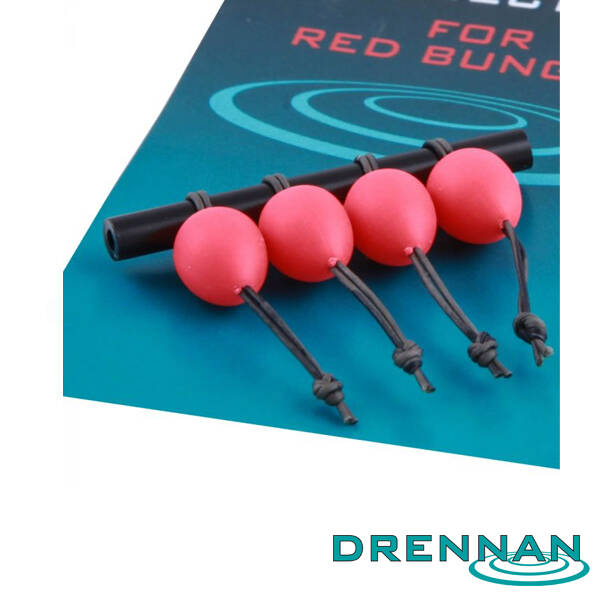 DRENNAN DACRON CONNECTORS LARGE RED (4 stuks)